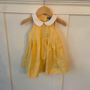 Gap Scallop Collar Dress Baby Girl NWOT